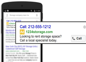 Call-only, le nouveau format de campagne Adwords